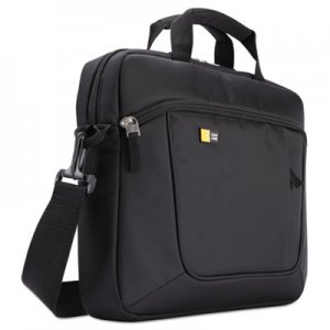 Case Logic Laptop and Tablet Case for 14.1 Laptop and iPad Slim, Polyester, Black CLG3201576 3201576