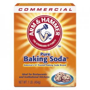 Arm & Hammer Baking Soda, 1lb Box, 24/Carton CDC3320084104 33200-84104