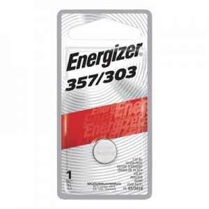 Energizer Watch/Electronic Battery, SilvOx, 357, 1.5V, MercFree EVE357BPZ 357BPZ