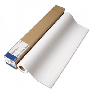 "Epson Professional Media Metallic Photo Paper Glossy, White, 16"" x 100 ft Roll EPSS045585 S045585"