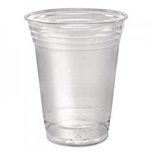 Dart Ultra Clear Cups, Squat, 16 oz, PET, 50/Pack DCCTP16DPK DCC TP16D CS