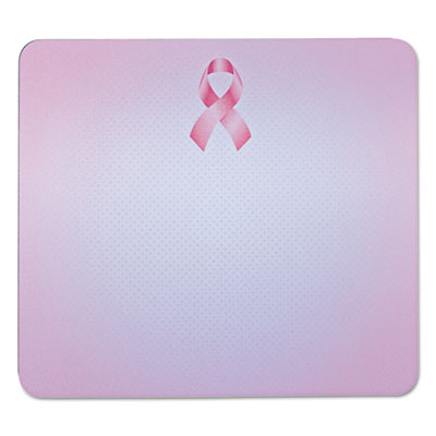"3M Mouse Pad with Precise Mousing Surface, 9"" x 8"" x 1/4"", Pink Ribbon Design MMMMP114BCA MP114-BCA"