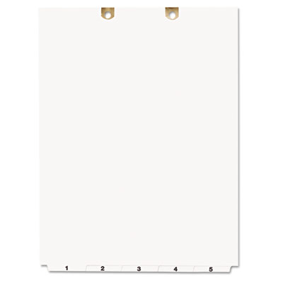 avery preprinted tab dividers for classification folders 5 tab letter ave13162 13162