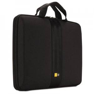 "Case Logic Laptop Sleeve for 13"" Chromebook or Laptops, 14 1/4 x 1 7/8 x 11, Black CLG3201246"