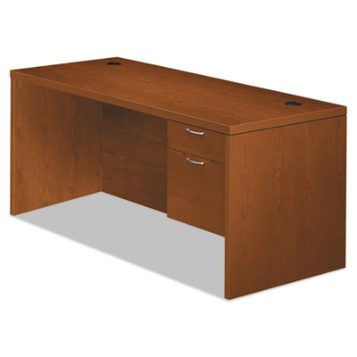 HON Valido 11500 Series Right Pedestal Desk, 72w x 36d x 29 1/2h, Bourbon Cherry HON11585RACHH