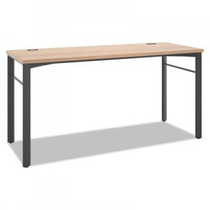 basyx Manage Series Desk Table, 60w x 23 1/2d x 29 1/2h, Wheat BSXMNG60WKSLW