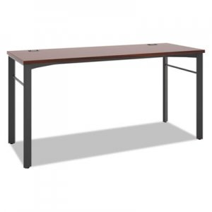 basyx Manage Series Desk Table, 60w x 23 1/2d x 29 1/2h, Chestnut BSXMNG60WKSLC