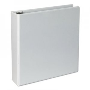 "Genpak Slant-Ring Economy View Binder, 2"" Capacity, White, 4/Pack UNV20746PK"