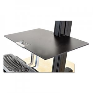 Ergotron Worksurface for WorkFit-S Workstations without Worksurface, 23w x 15d, Black ERG97581019 97581019