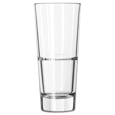 Libbey Endeavor Beverage Glasses, 10 oz, Clear, Hi-Ball Glass LIB15711 10031009367136