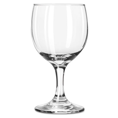 "Libbey Embassy Flutes/Coupes & Wine Glasses, Wine Glass, 8.5oz, 5 5/8"" Tall LIB3764 10031009370082"