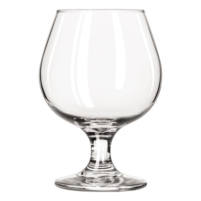 Libbey Embassy Brandy Glasses, 11.50 oz, Clear, Glass LIB3705 31009294596