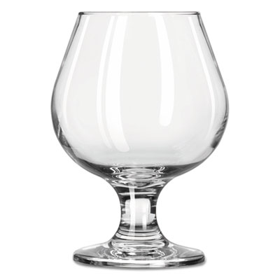Libbey Embassy Brandy Glasses, 9.25 oz, Clear LIB3704 31009574810
