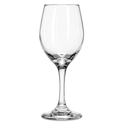 "Libbey Perception Glass Stemware, Wine, 11oz, 7 7/8"" Tall LIB3057 10031009019561"