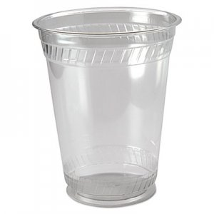 Fabri-Kal Greenware Cold Drink Cups, 16oz, Clear, 50/Sleeve, 20 Sleeves/Carton FABGC16S 9509106