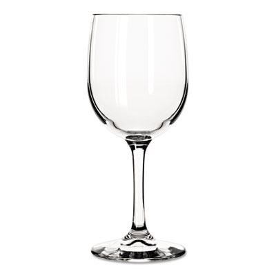 Libbey Bristol Valley Wine Glasses, White Wine, 8 1/2 oz, Clear, 24/Carton LIB8564SR 31009457236