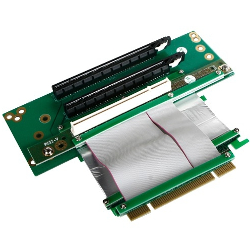iStarUSA 2 PCIe x16 and 1 PCI Riser Card DD-643661