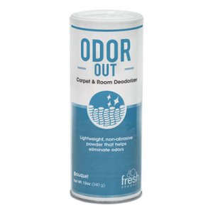 Fresh Products Odor-Out Rug/Room Deodorant, Bouquet, 12oz, Shaker Can, 12/Box FRS121400BO 12-14-00BO