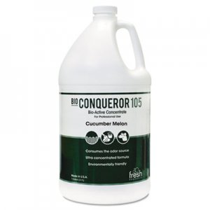Fresh Products Bio-C 105 Odor Counteractant Concentrate, Cucumber Melon, 1gal, Bottle, 4/Carton FRS1BWBCMF 1-BWB-CM-F