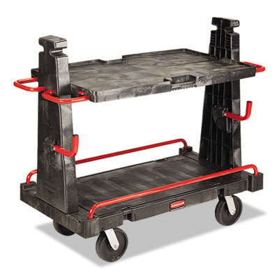 Rubbermaid Commercial A-Frame Panel Convertible Truck, 2000lb Cap, 27 1/4 x 50 1/4 x 49 1/2
