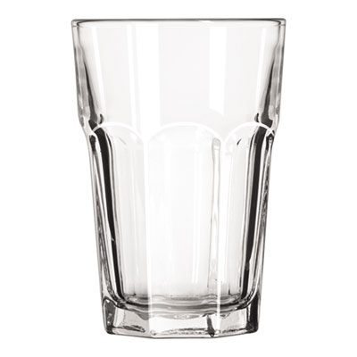 "Libbey Gibraltar Glass Tumblers, Beverage, 14oz, 5 1/8"" Tall, 36/Carton LIB15244 31009733224"