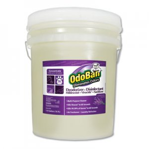 OdoBan Concentrated Odor Eliminator, Lavender Scent, 5 gal Pail ODO9111625G CCC 911162-5G