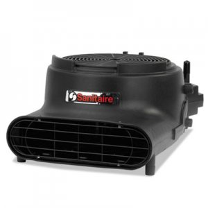 Sanitaire Precision Air Mover, 3400 FPM, Black, 22 x 16 1/2 x 11 1/2, 120 V EUR6055A EUR