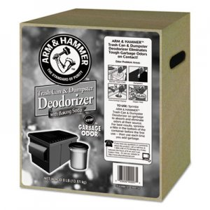 Arm & Hammer Trash Can & Dumpster Deodorizer, Unscented, Powder, 30 lb CDC3320000007 33200-00007