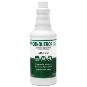 Fresh Products Bio Conqueror 105 Enzymatic Concentrate, Mango, 32oz, Bottle, 12/Carton FRS1232BWBMG 12-32BWB-MG