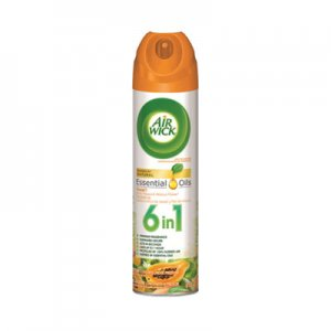 Air Wick 4 in 1 Aerosol Air Freshener, 8 oz Can, Hawaii Exotic Papaya & Hibiscus Flower RAC85257EA 85257EA