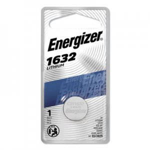 Energizer Watch/Electronic/Specialty Battery, 1632, 3V EVEECR1632BP ECR1632BP