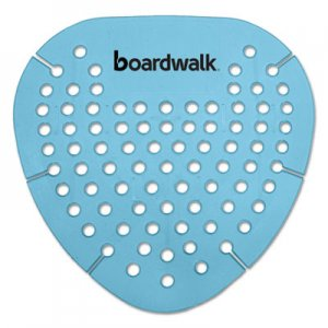 Boardwalk Gem Urinal Screen, Lasts 30 Days, Blue, Cotton Blossom Fragrance, 12/Box BWKGEMCBL