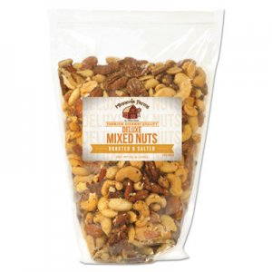 Office Snax Favorite Nuts, Deluxe Nut Mix, 34 oz Bag OFX00098 00098