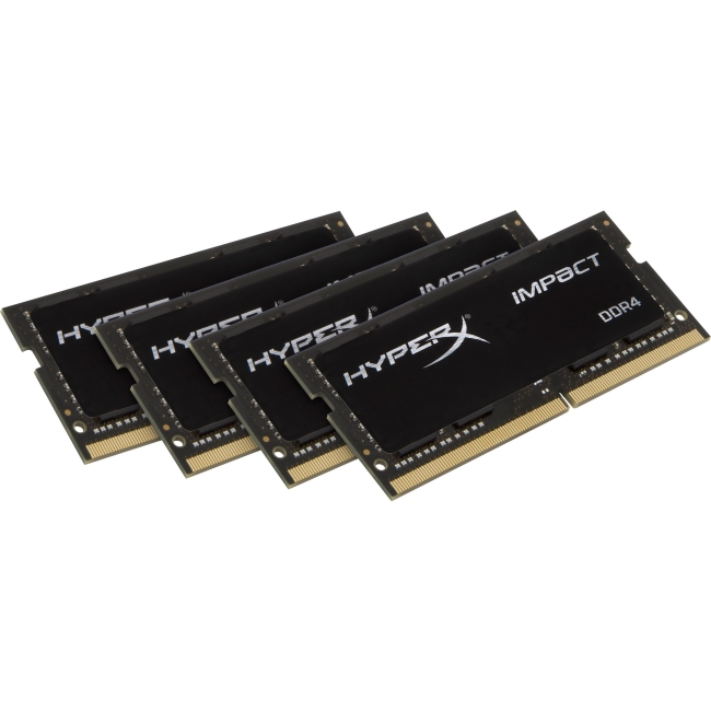 Kingston HyperX Impact SODIMM - 64GB Kit (4x16GB) - DDR4 2133MHz HX421S14IBK4/64
