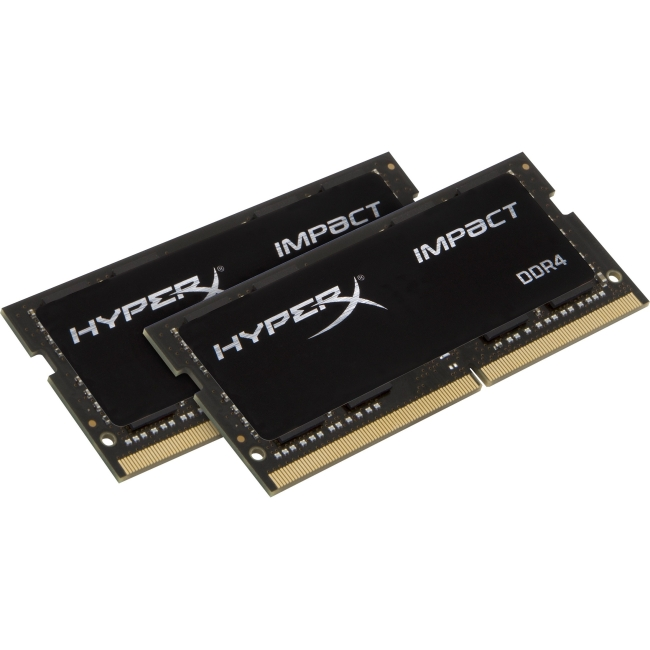 Kingston HyperX Impact SODIMM - 32GB Kit (2x16GB) - DDR4 2400MHz HX424S14IBK2/32