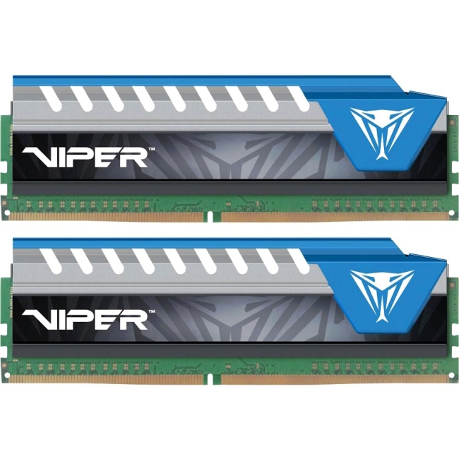 Patriot Memory Viper Elite Series DDR4 8GB (2 x 4GB) 2800MHz Kit (Blue) PVE48G280C6KBL