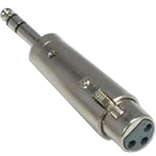 QVS 1/4 Male to XLR Female Audio Adaptor XLRT-BFM
