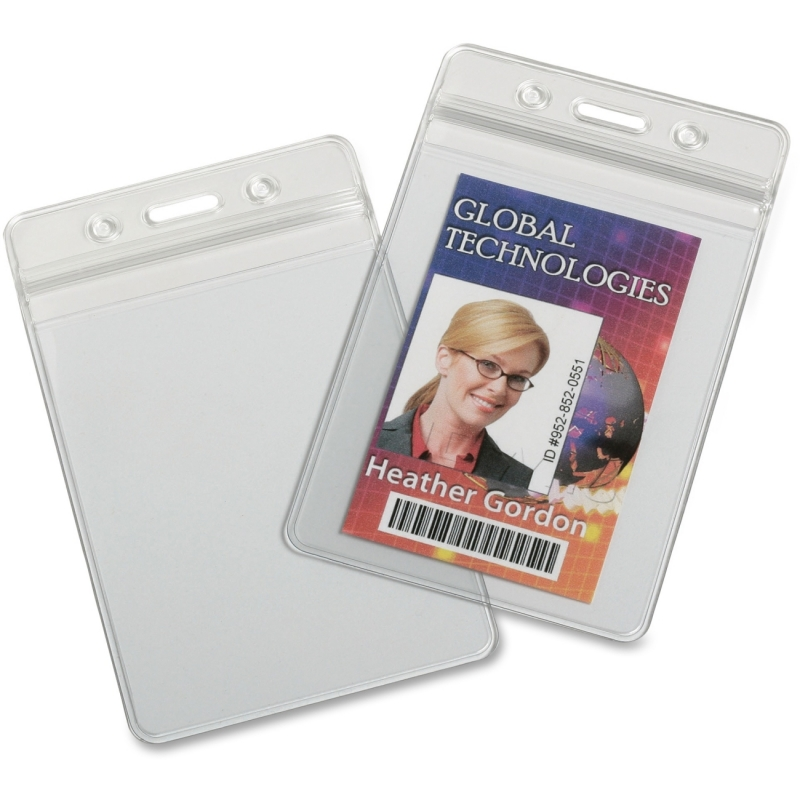 SKILCRAFT Resealable Badge Holders 6485710 NSN6485710