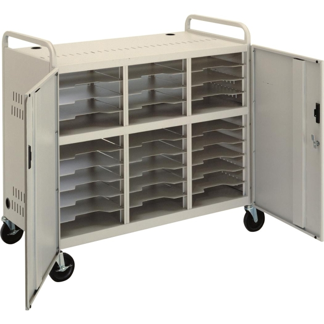 Da-Lite CT-LS30 Laptop Storage Cart 7526 CT-LS30-E