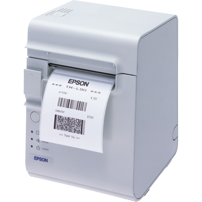 Epson Label Printer with Peeler C31C412416 TM-L90