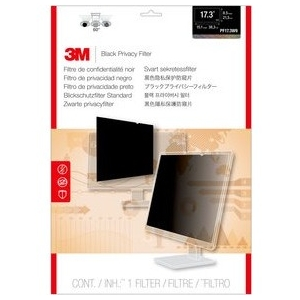 "3M 17.3"" Widescreen Laptop Privacy Filter PF173W9B"