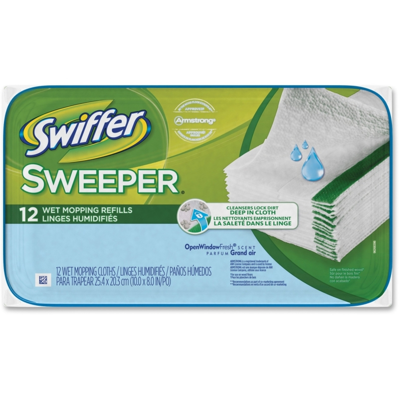 Swiffer Sweeper Wet Mop Refills 95531 PGC95531