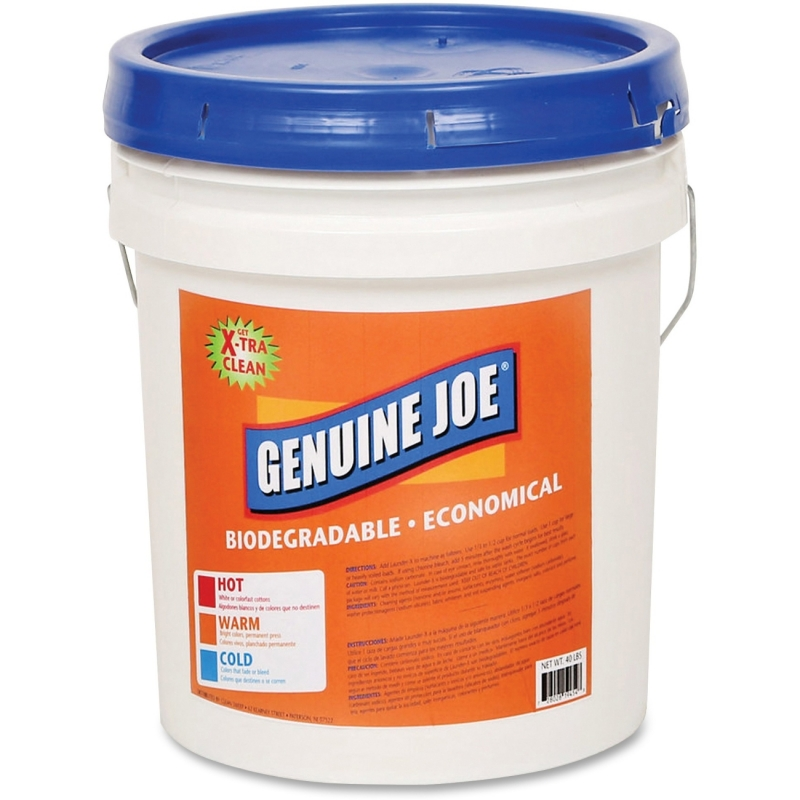 Genuine Joe Launder-X Laundry Powder Detergent 99737 GJO99737