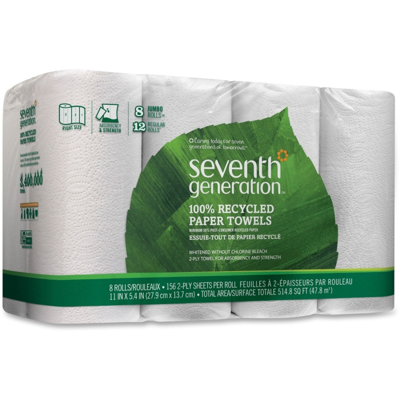 Seventh Generation Recycled Paper Towels 13739 SEV13739