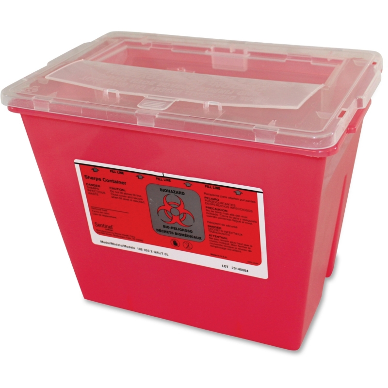 Impact Products 2-gallon Sharps Container 7352CT IMP7352CT