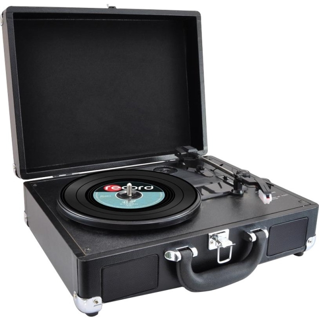 PyleHome Record Turntable PVTTBT6BK