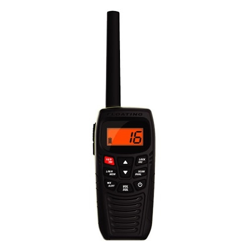 Uniden Handheld Floating Two-Way VHF Marine Radio ATLANTIS 270