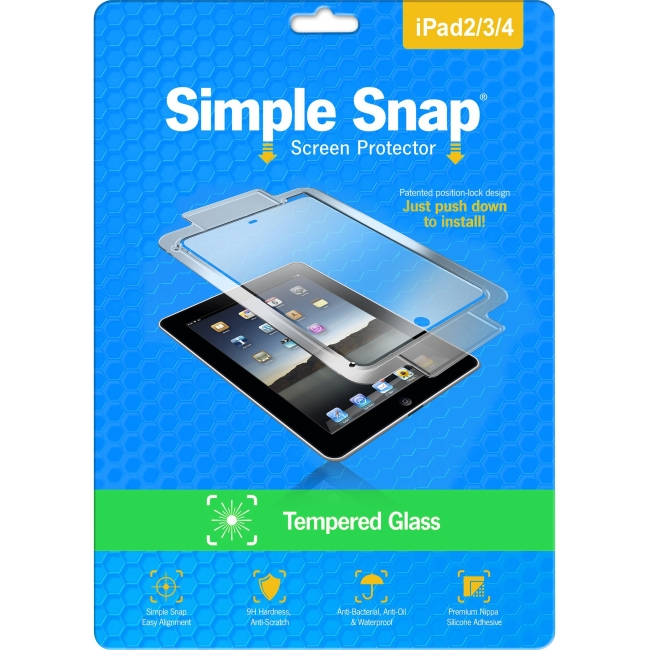 ReVamp Simple Snap Screen Protector (iPad 2/3/4) (Tempered Glass) SS0023