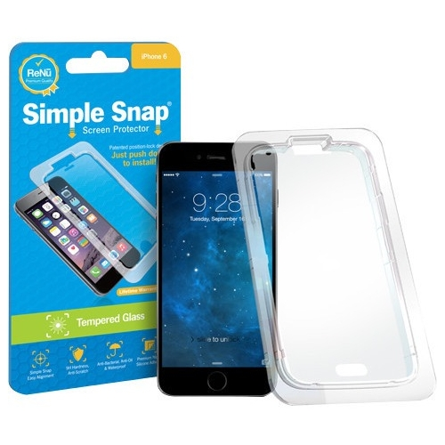 ReVamp Simple Snap Screen Protector (iPhone 6/6S Plus) (Tempered Glass) SS0020