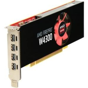 HP AMD FirePro W4300 Graphic Card T7T58AT